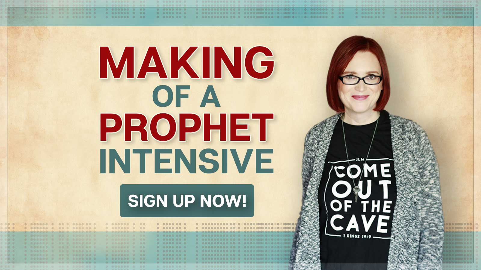 Making of a Prophet Webinar - Jennifer LeClaire's School of the Spirit